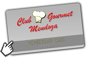 beneficio club gourmet mendoza